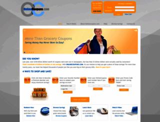 site.onlinecoupons.com screenshot