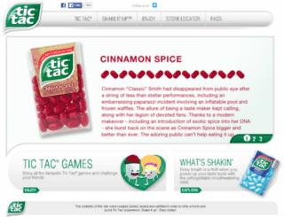 site.tictacusa.com screenshot
