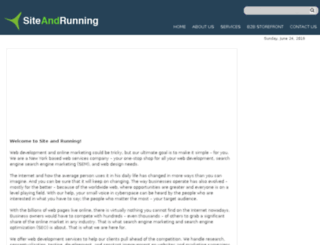 siteandrunning.com screenshot