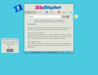 sitebilgileri.com screenshot