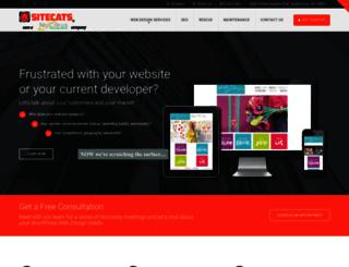 sitecats.com screenshot
