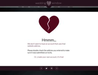 sitecenter8.weddingwindow.com screenshot