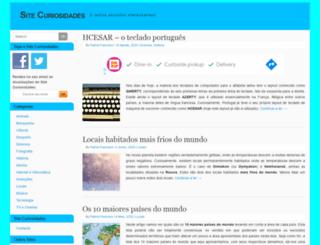 sitecuriosidades.com screenshot