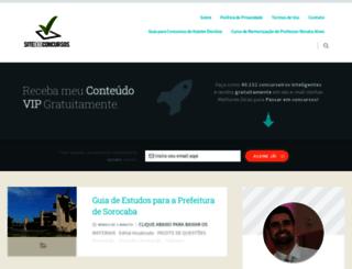 sitedosconcursos.com screenshot