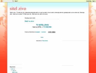 sitelzivo.blogspot.com screenshot
