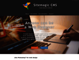 sitemagic.org screenshot