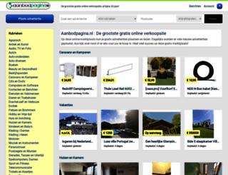sitepakket.nl screenshot