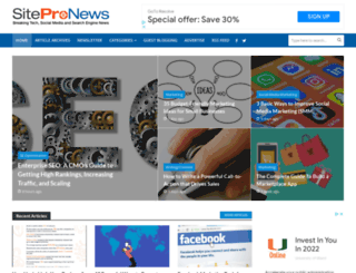sitepronews.com screenshot