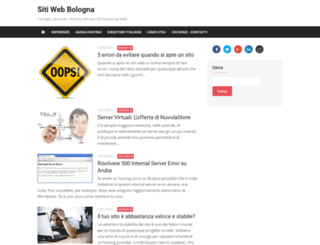 sitiweb-bologna.com screenshot