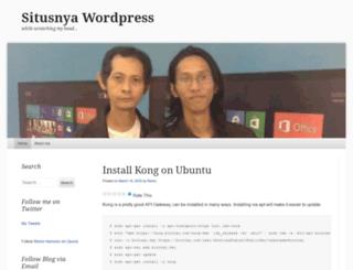 situsnya.wordpress.com screenshot