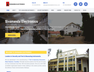 sivanandaelectronics.com screenshot