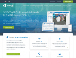 siveco.com screenshot