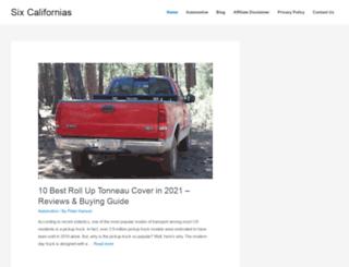 sixcalifornias.com screenshot