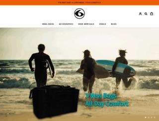 sixpackbags.com screenshot