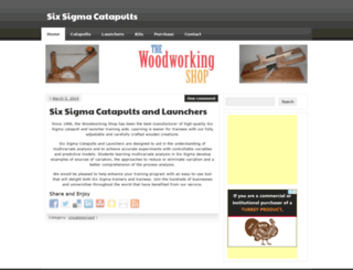 sixsigmacatapults.com screenshot