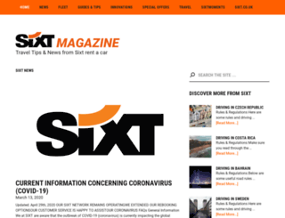 sixtblog.co.uk screenshot