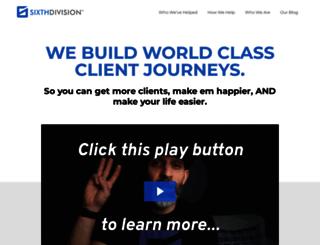 sixthdivision.com screenshot