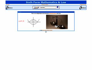 sixthform.info screenshot