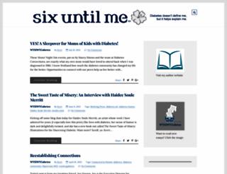 sixuntilme.com screenshot