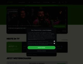 sixx.ch screenshot