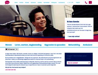 siza.nl screenshot
