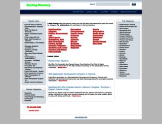sizzlingdirectory.com screenshot