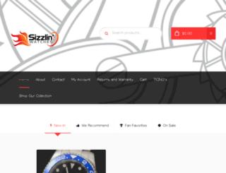 sizzlinwatches.com screenshot