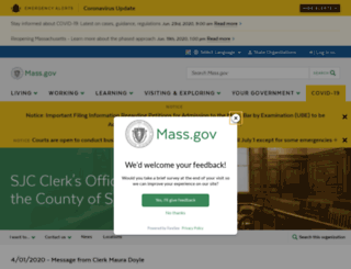 sjccountyclerk.com screenshot