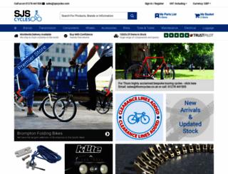 sjscycles.co.uk screenshot
