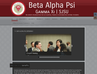 sjsubap.com screenshot