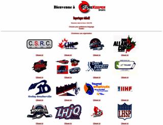 sk-hockey.com screenshot