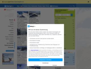 sk.bergfex.com screenshot