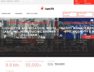 sk.iamfx.com screenshot