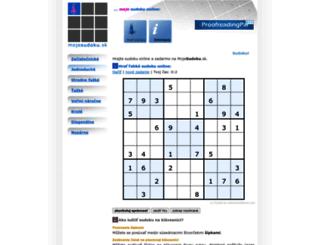 sk.sudokuonline.cz screenshot