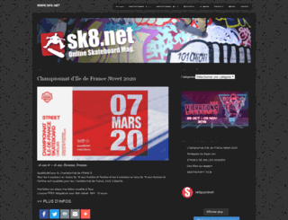 sk8.net screenshot