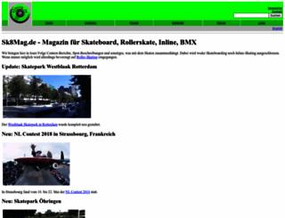sk8mag.de screenshot