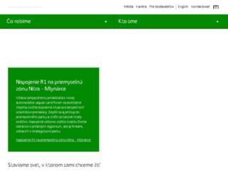 skanskatechnologie.sk screenshot