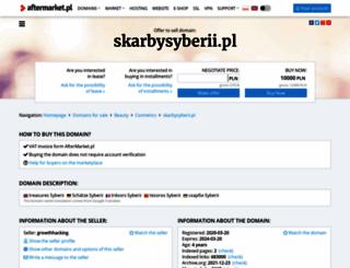 skarbysyberii.pl screenshot