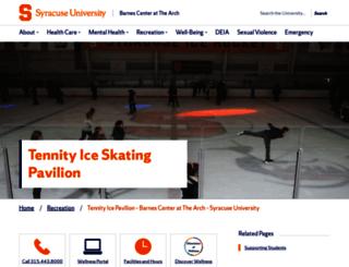 skate.syr.edu screenshot