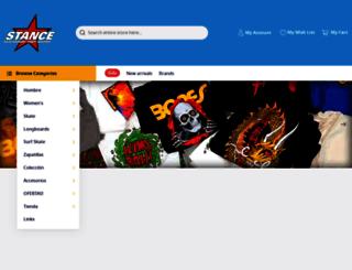 skateboard-stance.com screenshot