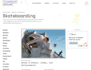 skateboard.about.com screenshot