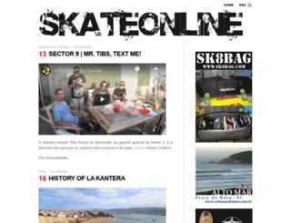 skateonline.com.br screenshot