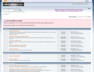 skatingforums.com screenshot