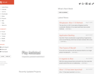 skcraft.com screenshot
