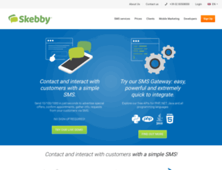 skebby.com screenshot
