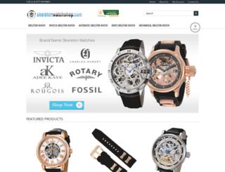 skeletonwatchshop.com screenshot
