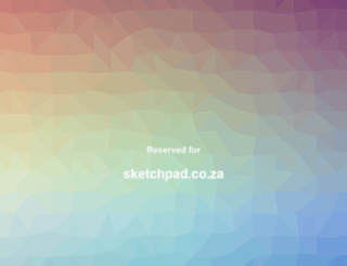 sketchpad.co.za screenshot