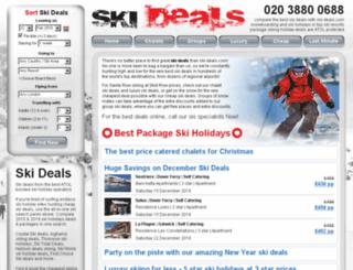 ski-deals.com screenshot