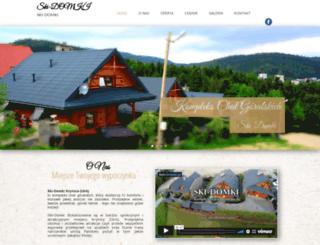 ski-domki.com screenshot