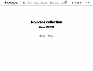 ski-lacroix.com screenshot